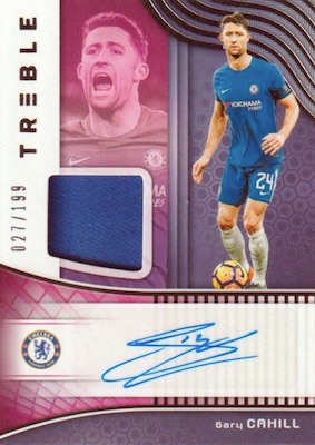 2018-19 Panini Treble Soccer Cards 26