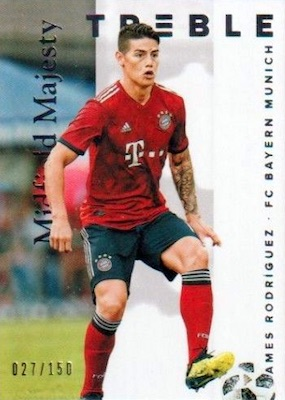 2018-19 Panini Treble Soccer Cards 36