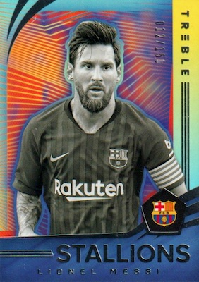 2018-19 Panini Treble Soccer Cards 38