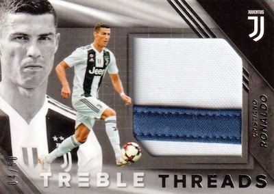 2018-19 Panini Treble Soccer Cards 7
