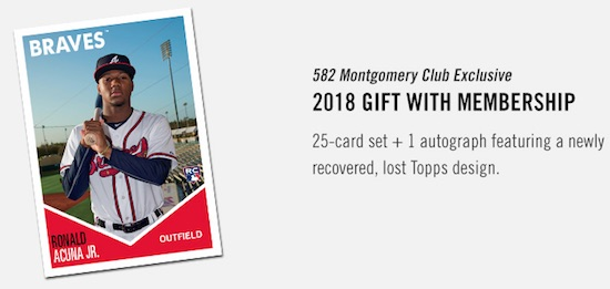 2018-19 Topps 582 Montgomery Club Baseball Cards - Set 2 1