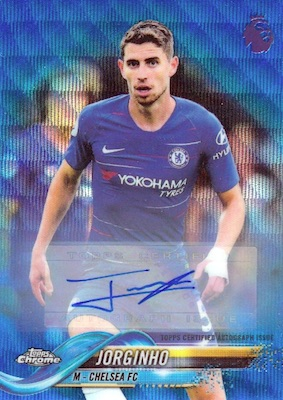 2018-19 Topps Chrome Premier League Soccer Cards 26