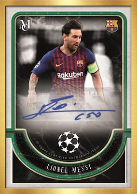 2018-19 Topps Museum Collection Champions League