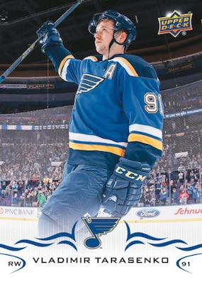 2018-19 Upper Deck Hockey Stadium Giveaway Cards Team Checklist 16