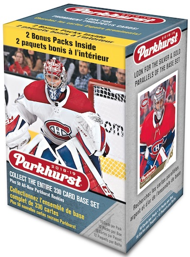 2018-19 Upper Deck Parkhurst Hockey Cards 1