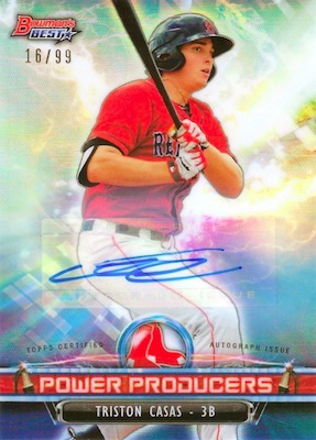 2018 Bowman's Best Baseball Cards 29