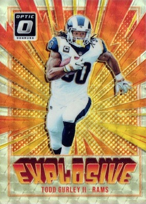 2018 Donruss Optic Football Cards 36