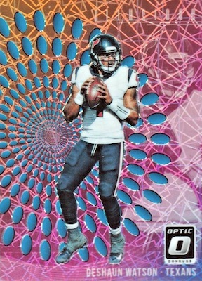 2018 Donruss Optic Football Cards 38