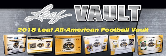 2018 Leaf All-American Football Vault Cards 3