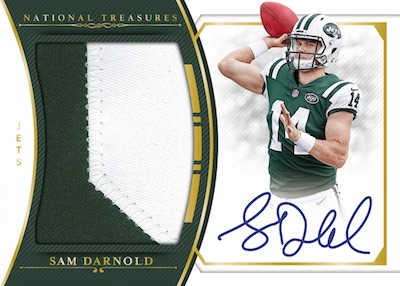 2018 Panini National Treasures Football Cards 6
