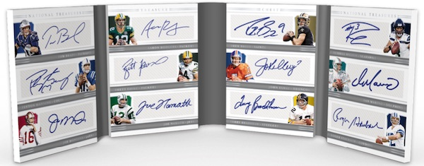 2018 Panini National Treasures Football Cards 10