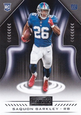 2018 Panini Playbook Football Cards 25