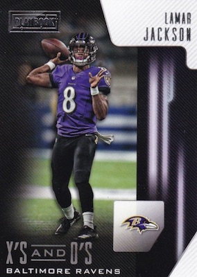2018 Panini Playbook Football Cards 36