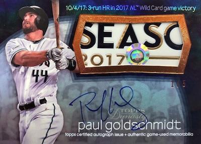 2018 Topps Dynasty Baseball Cards 2