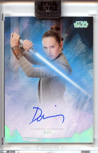 2018 Topps Star Wars Stellar Signatures Trading Cards 23