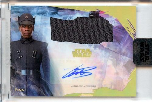 2018 Topps Star Wars Stellar Signatures Trading Cards 22