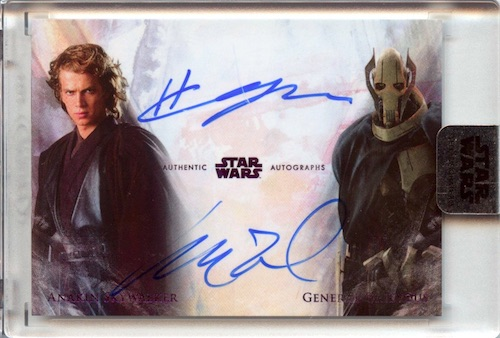 2018 Topps Star Wars Stellar Signatures Trading Cards 24