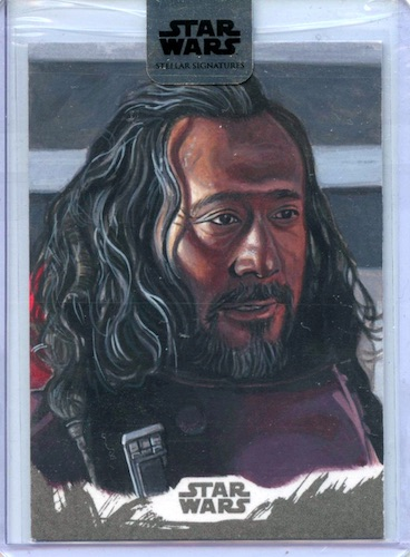 2018 Topps Star Wars Stellar Signatures Trading Cards 26