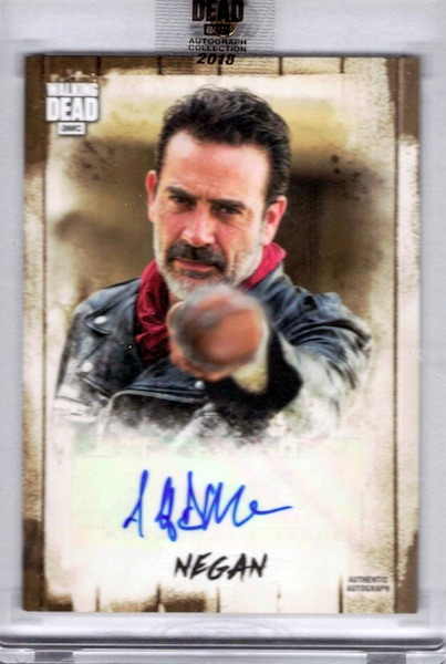 2018 Topps Walking Dead Autograph Collection Trading Cards 3