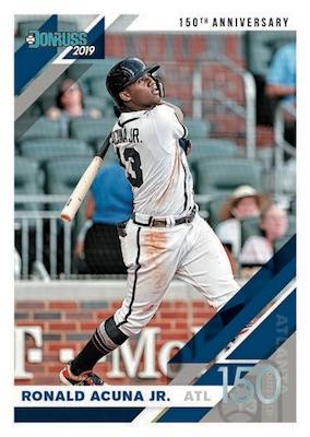 2019 Donruss Baseball Cards 3