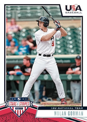 2019 Panini Stars & Stripes USA Baseball Cards 3