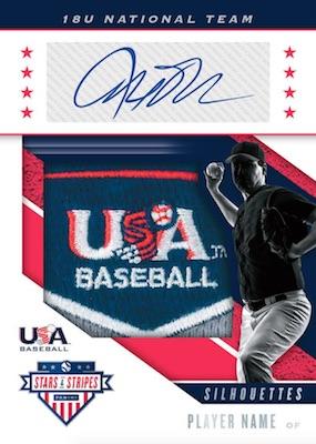 2019 Panini Stars & Stripes USA Baseball