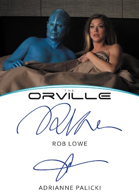 2019 Rittenhouse The Orville Season 1 Trading Cards - Seth MacFarlane Autographs 6