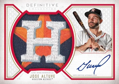 2019 Topps Definitive Collection Baseball Cards 5