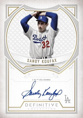 2019 Topps Definitive Collection Baseball Cards 4