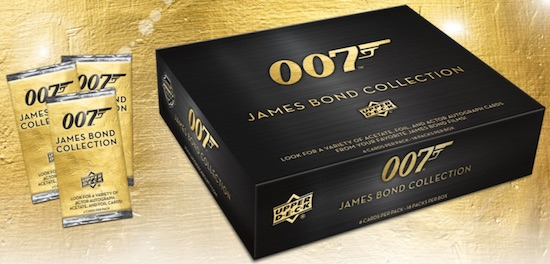 2019 Upper Deck 007 James Bond Collection Trading Cards 3