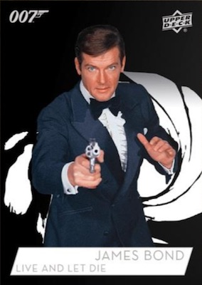 2019 Upper Deck 007 James Bond Collection Trading Cards 4