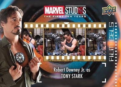 2019 Upper Deck Marvel Studios First 10 Years Trading Cards 3