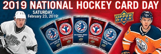 2019 Upper Deck National Hockey Card Day Trading Cards 5