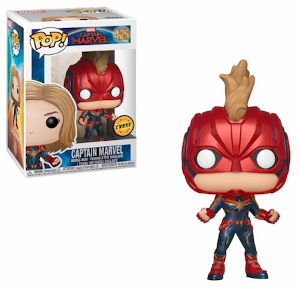 Funko Pop Captain Marvel Movie Figures 4