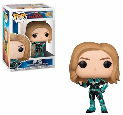 Funko Pop Captain Marvel Movie Figures 7