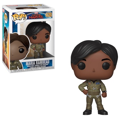 Funko Pop Captain Marvel Movie Figures 10