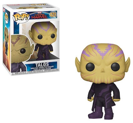 Funko Pop Captain Marvel Movie Figures 11