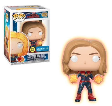 Funko Pop Captain Marvel Movie Figures 12