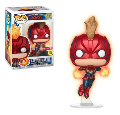 Ultimate Funko Pop Captain Marvel Figures Checklist and Gallery 7