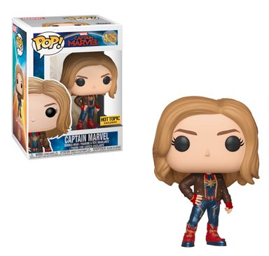 Funko Pop Captain Marvel Movie Figures 15