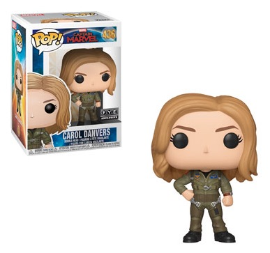 Funko Pop Captain Marvel Movie Figures 16