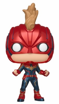 Funko Pop Captain Marvel Movie Figures 2