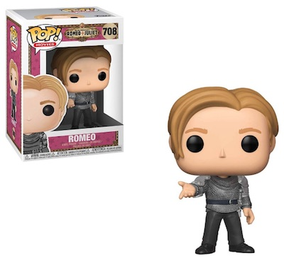 Funko Pop Romeo and Juliet Vinyl Figures 2