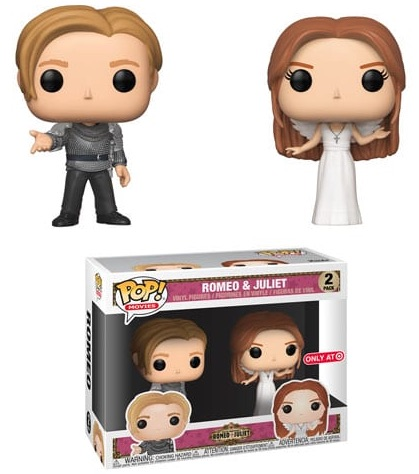 Funko Pop Romeo and Juliet Vinyl Figures 5
