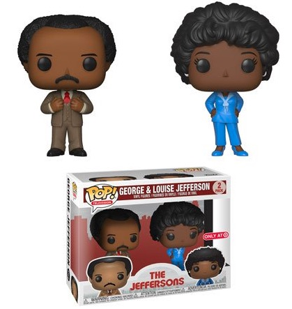 Funko Pop The Jeffersons Vinyl Figures 4