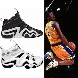 hot sale online 5d492 b670a Kobe Bryant Shoes Guide, Visual History, Timeline, Gallery, Nike, Adidas