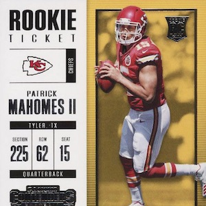 Patrick Mahomes Rookie Cards Guide Top List Best