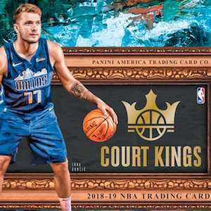 Panini Court Kings baloncesto Blaster box nba 2018//19