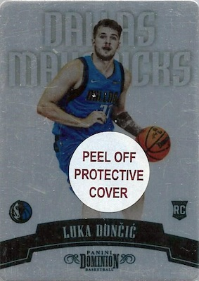 Top Luka Doncic Rookie Cards to Collect 8