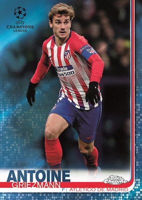 2018-19 Topps Chrome UEFA Champions League Soccer Cards 1